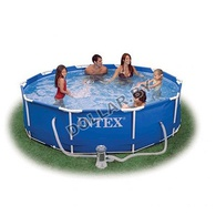 Каркасный бассейн Intex 56949 Metal Frame Pool 457 x 107 см