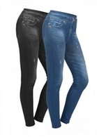 Леджинсы Slim`n Lift Caresse Jeans 2 пары