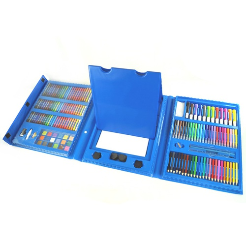 Набор для рисования The Best Gift For Kids с мольбертом (176 предметов)
