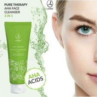 Очищающий гель 3-в-1 Pure therapy Aha Face Cleanser 3 in 1 Lambre