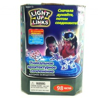 Светящийся конструктор Light up links 98 деталей
