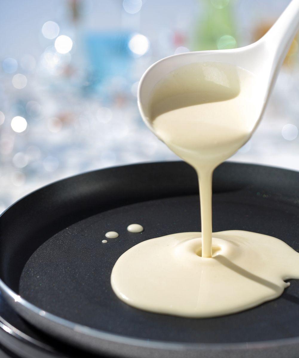 Блиныы на молоке толстые