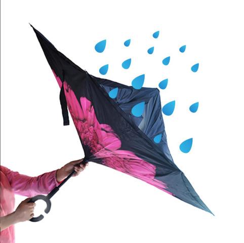 Зонтик наоборот