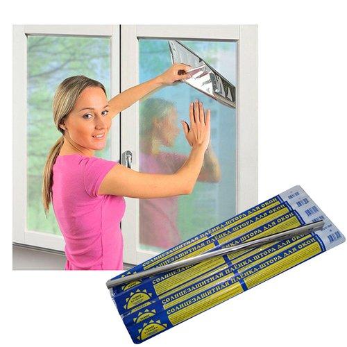 Солнцезащитная пленка на окно своими руками