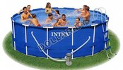 Каркасный бассейн Intex 56946 Metal Frame Pool 457 x 122 см