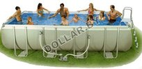 Каркасный бассейн Intex 54482 Rectangular Ultra Frame Pool 549 x 274 x 132 см